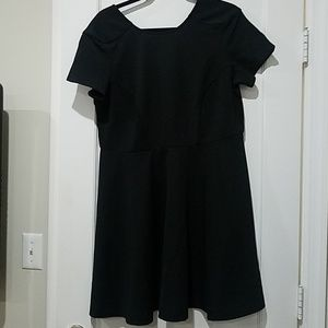 Eloquii little black dress LBD short sleeve